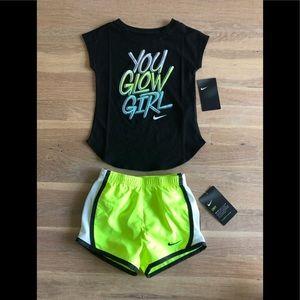 Girls Nike Matching Set size 4T NWT